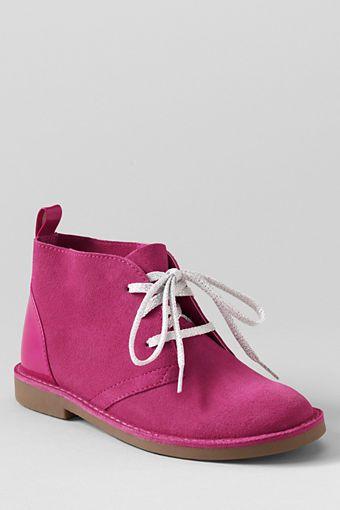 Youth Chukka Boots from Lands' End | Mooiste Pins - Veldskoene ...