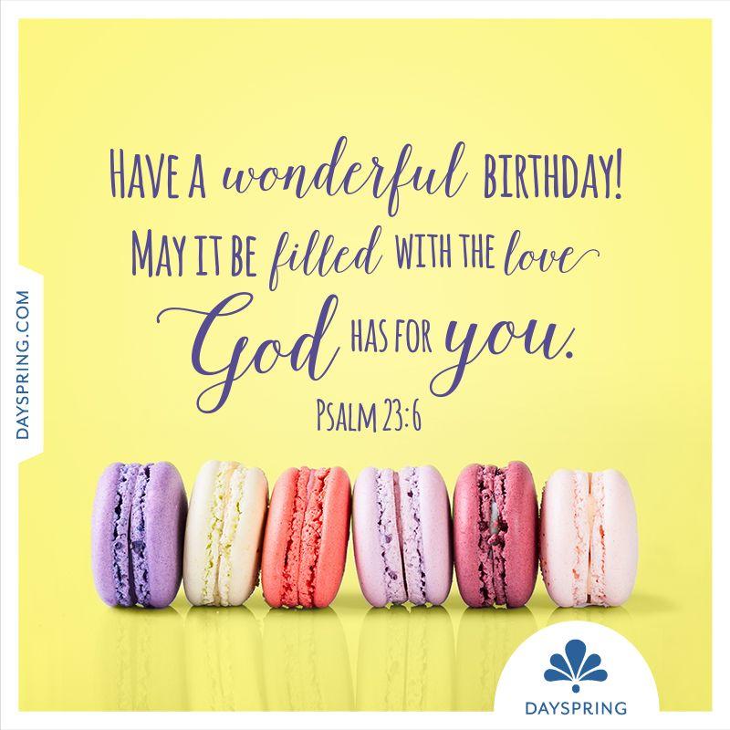 Dayspring ecards christian birthday wishes friend