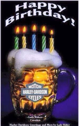 Harley Davidson Birthday Wishes Happy Birthday Harley Happy