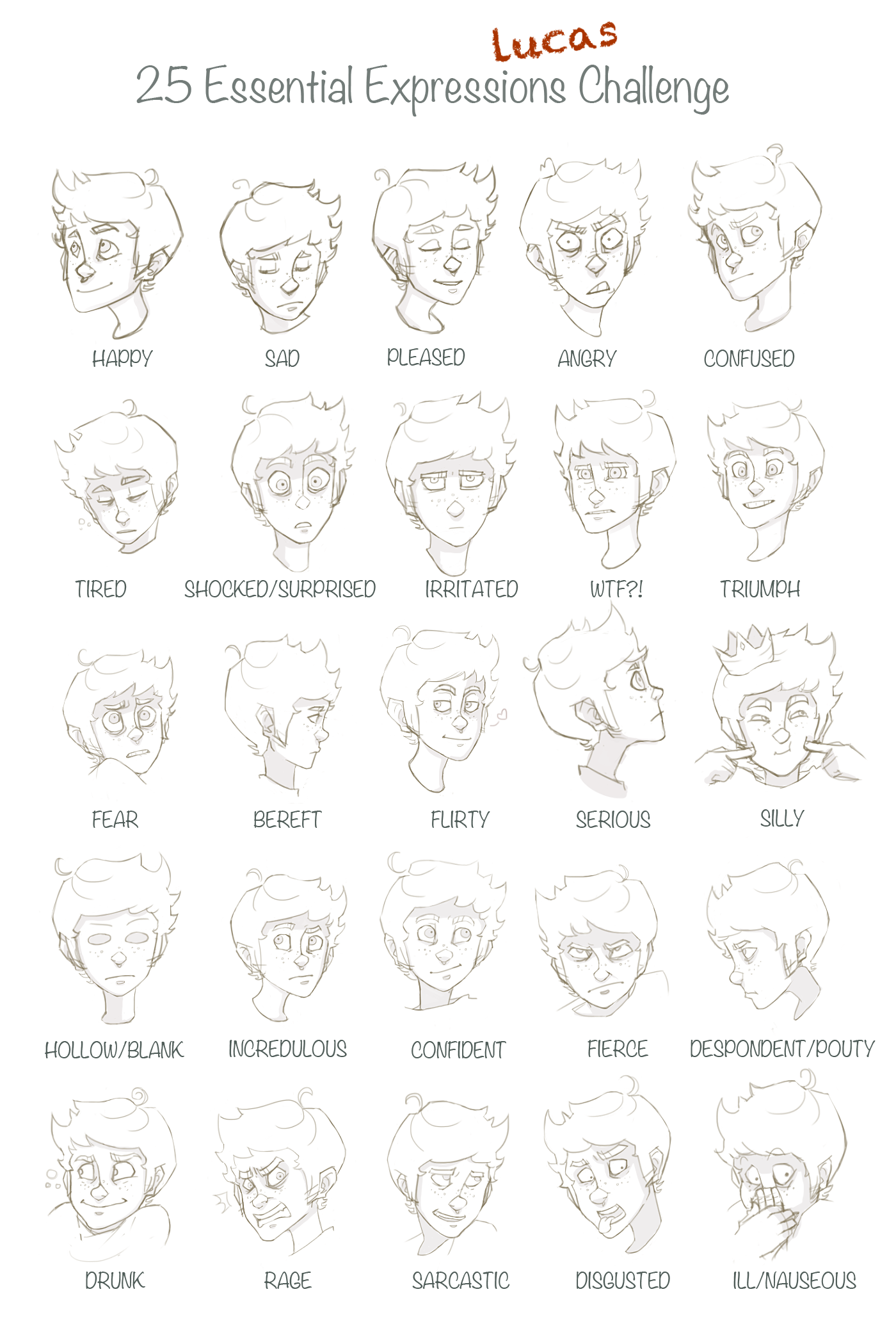 25 Expressions Challenge