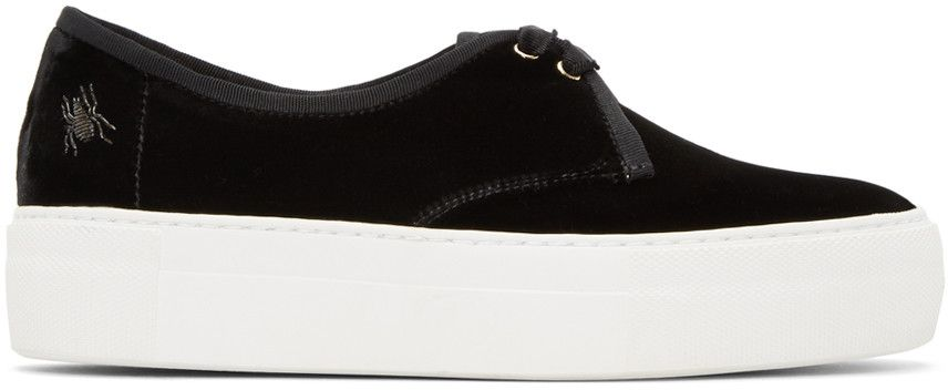 Black Portobello Platform Sneakers Charlotte Olympia rdad3wTJR