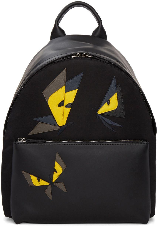 FENDI .  fendi  bags  leather  lining  nylon  backpacks    cea8b6b8839fc