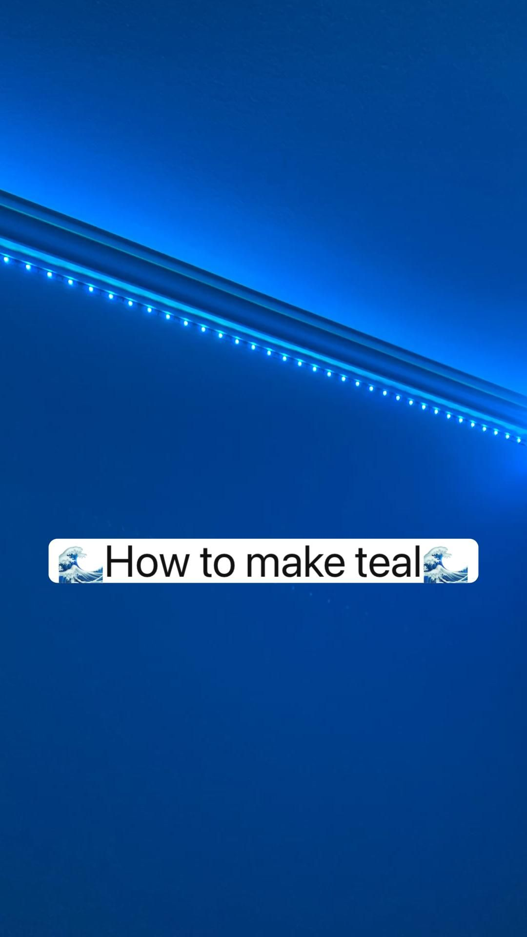 100+ 🌊How to make teal🌊