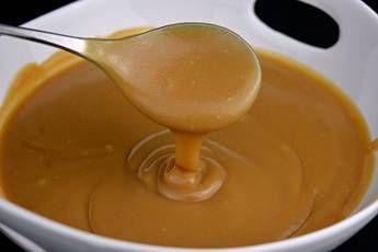 Salsa de caramelo o salsa toffee