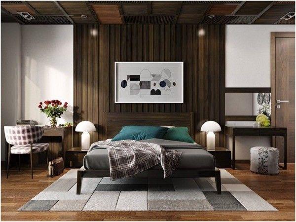 30 Ideen für modernes Schlafzimmer Design mit Lattenrost