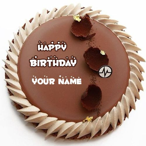 Write Your Name On Birthday Cakes For Friends Online Crate Happy