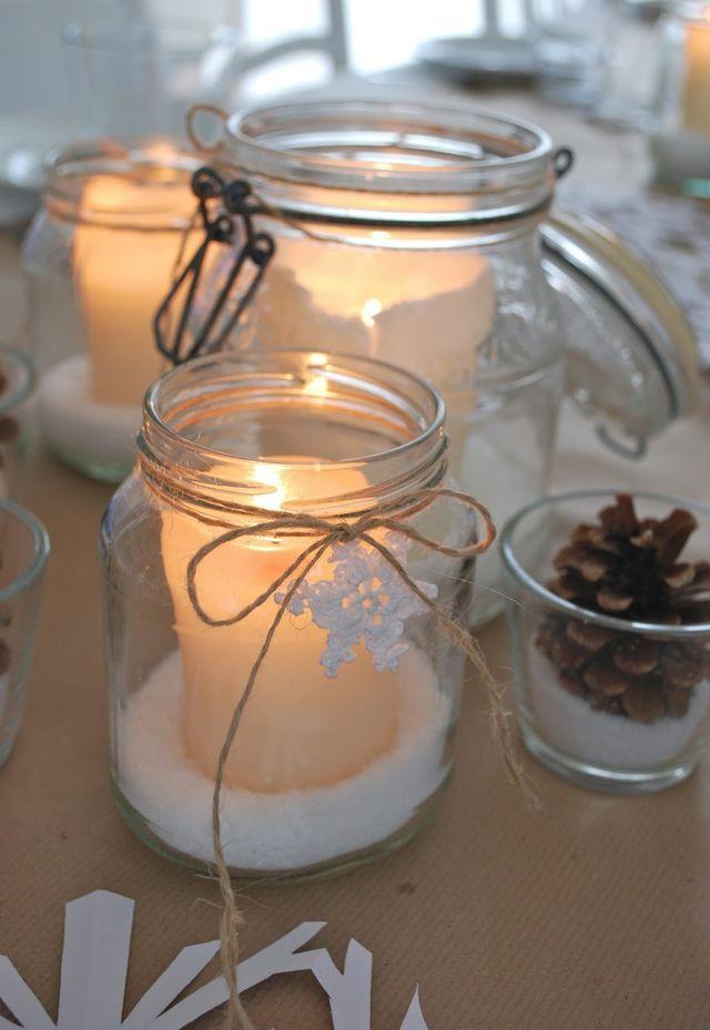 Die besten 25 winterdeko tisch ideen auf pinterest Weihnachtsbaum deko ideen