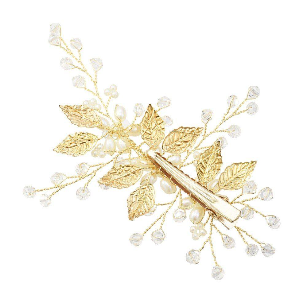 Strass Hochzeit Brautschmuck Braut Haarschmuck Blumen Haarklammer Haarnadeln