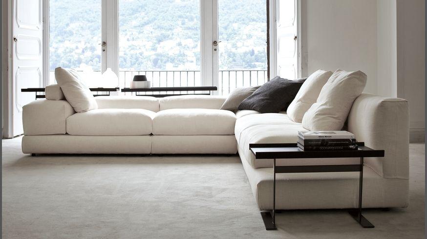 835 Evosuite divano componibile reclinabile in tessuto