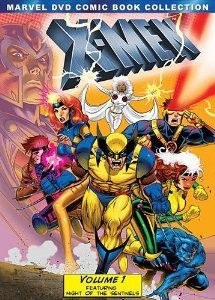 X Men 1990 S Animated Series Dvd Volume 1 Cartoon Cartoon Marvel Comics Wolverine Quadrinhos