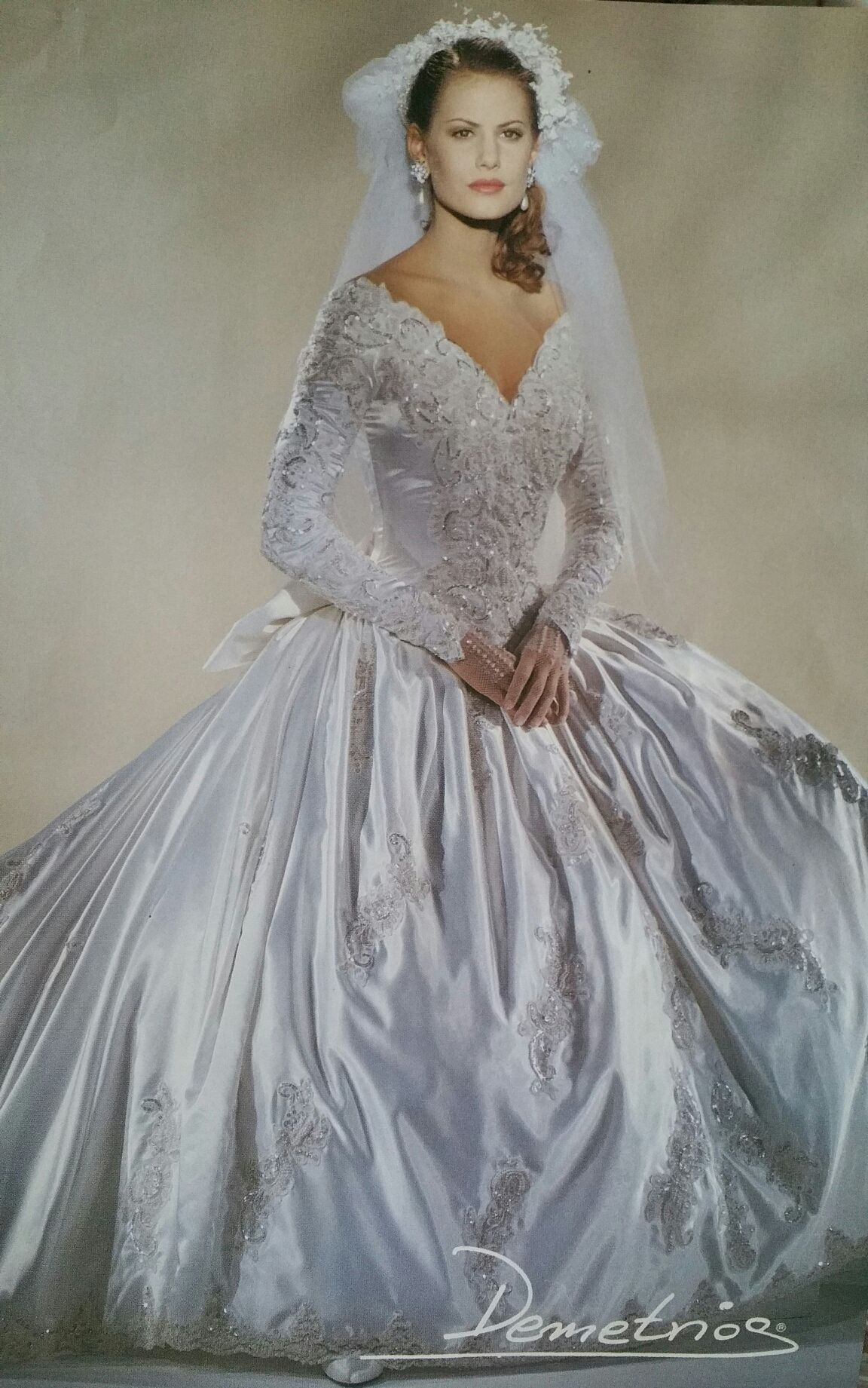 Demetrios us wed Pinterest Gowns Wedding dress and