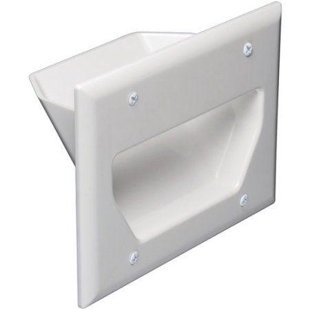 Home Improvement Plates On Wall Recess Flat Panel Tv