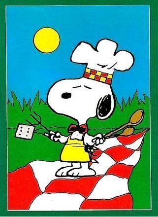 d5df96ffe474aa Snoopy BBQ. Peanuts ...