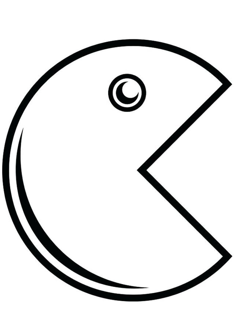 Pacman Ghost Coloring Pages The Following Is Our Collection Of Easy Pacman Coloring Page You Are Fre Coloring Pages Cool Coloring Pages Online Coloring Pages