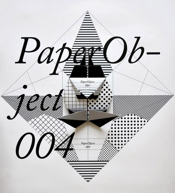 PaperObject by Happycentro , via Behance