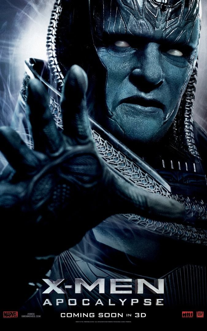 The Big Man Himself Gets An X Men Apocalypse Poster Apocalypse Movies X Men Apocalypse X Men