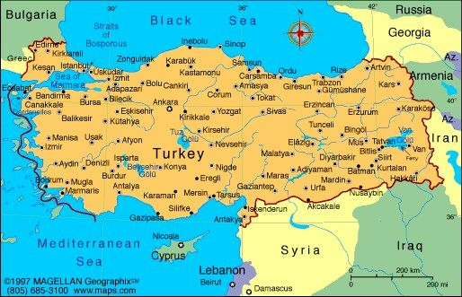 Map of turkey maps of countries weve visited pinterest turkey map of turkey gumiabroncs Images