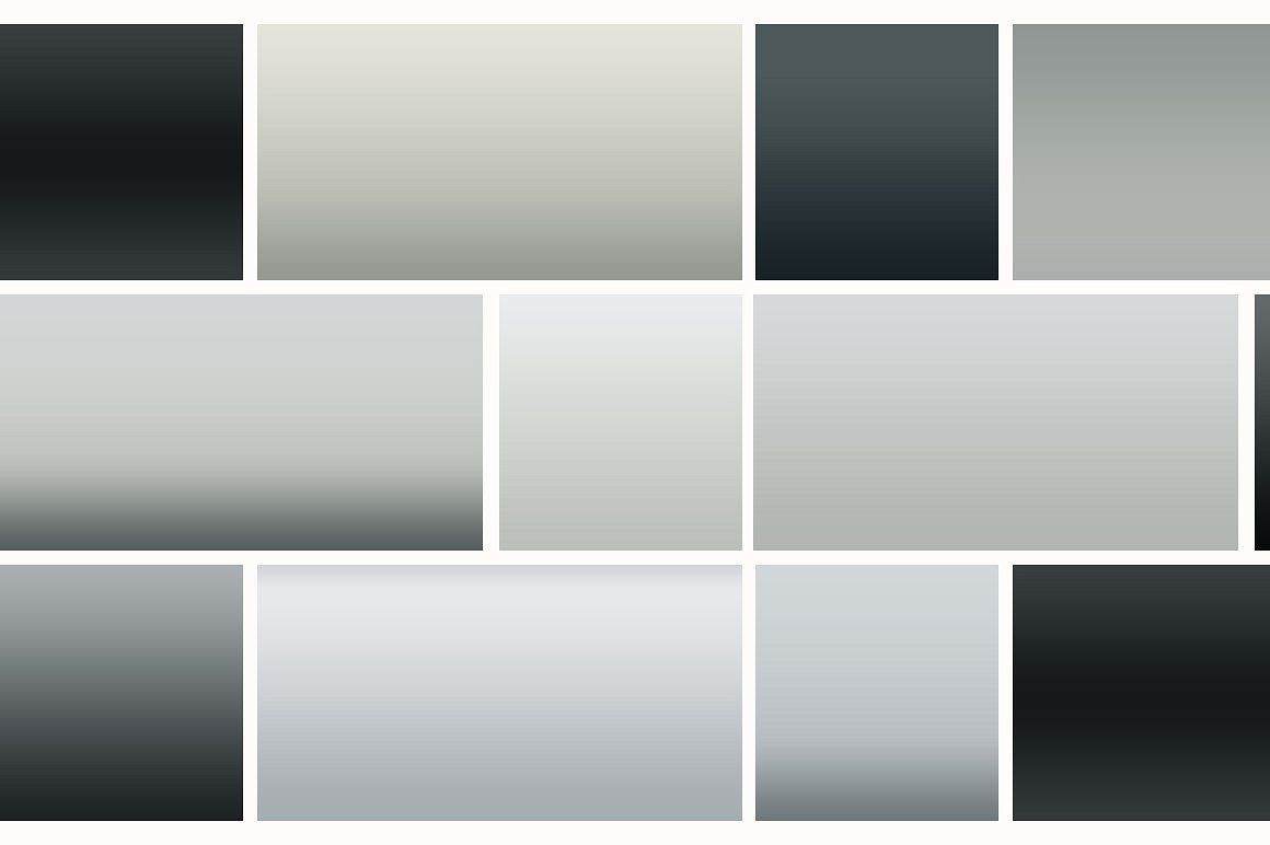 126 Black and White Gradients #grd#Basic#amp#Files