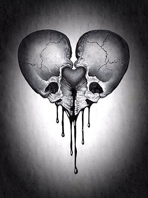 they say that the hear icon represents two physical hearts sewn rh pinterest com Gothic Dragon Tattoos Gothic Dragon Tattoos
