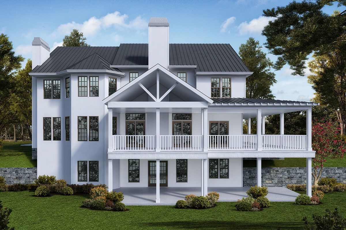 Plan 25659ge Modern Farmhouse Plan With Wraparound Porch And Optional 2 Story Grand Room Modern Farmhouse Plans Farmhouse Style House American Houses