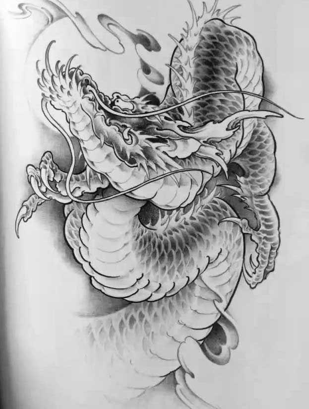 Dragon | tattoo | Pinterest | Dragones, Tatuajes y Tatuaje japonés