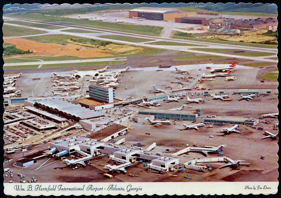 1979 William B Hartsfield International Airport Atlanta