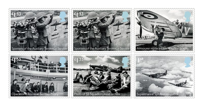 Collectorzpedia Royal Mail Stamps Battle Of Britain 75th Anniversary