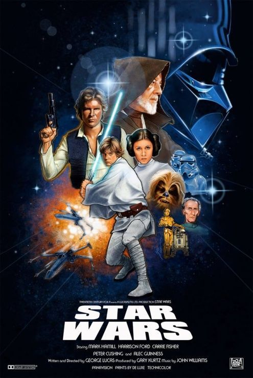 Star Wars A New Hope (Una Nueva Esperanza)