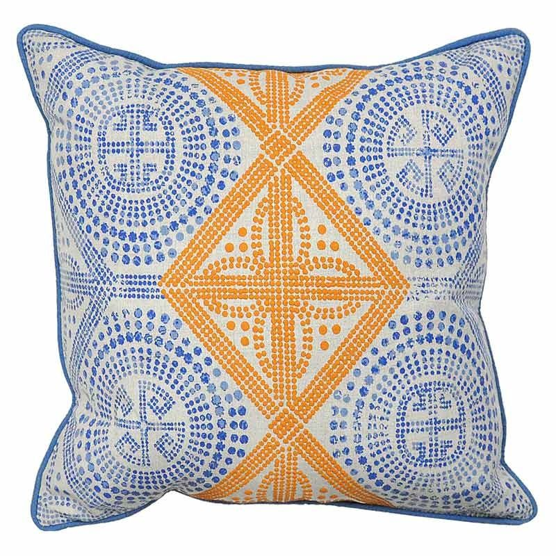 For The Mom Who Pulls Creative Inspiration From All Over World Villa Tyana Print Pillow