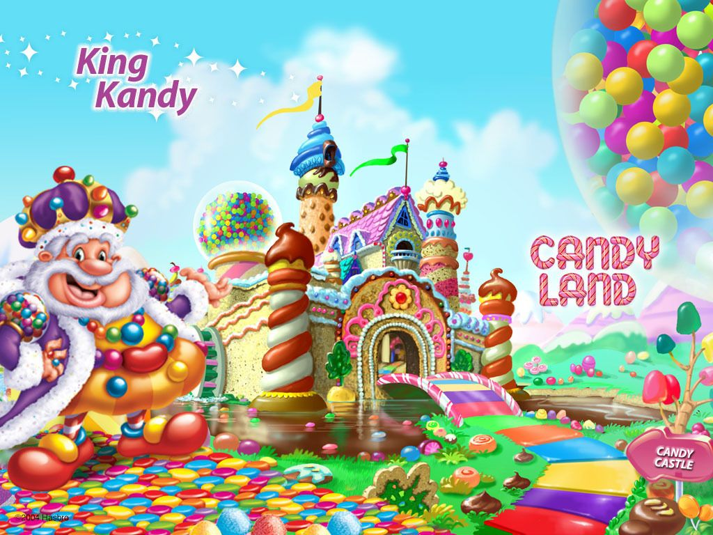 Candy Land King Kandy - candy-land Wallpaper | Sophia\'s birthday ...