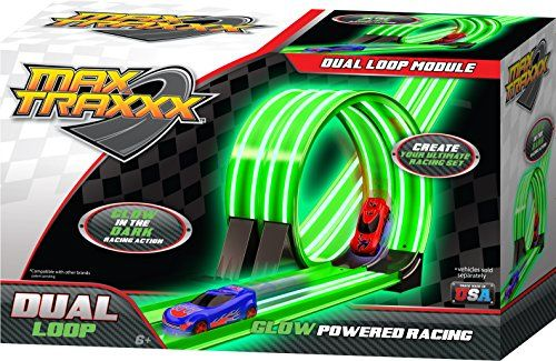 Max Traxxx Tracer Racers Dual Loop Module for Gravity Drive and Remote Control Sets | Top Latest New Tech And Cool Gadgets
