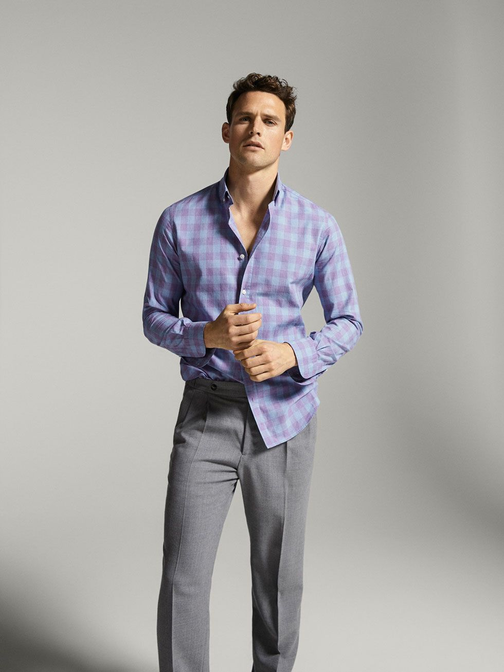 Men's Slim Fit Pants | Massimo Dutti Spring Summer