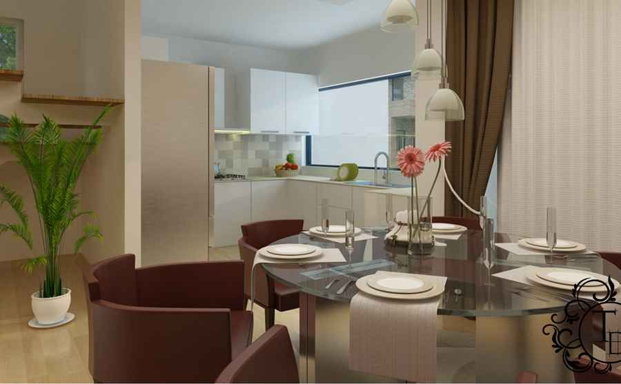Dining area by Mudit Surana, Interior Designer in New ...