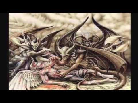 أول سكنة الارض الحن والبن والسن والخن واسرار المعركة الكبرى التي حدثت Angels And Demons Demon Angel