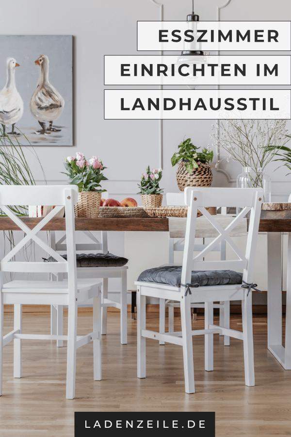 Wie Kannst Du Esszimmer Im Landhausstil Einrichten? Finde Tipps Zur  Rustikalen Einrichtung Mit Tisch,