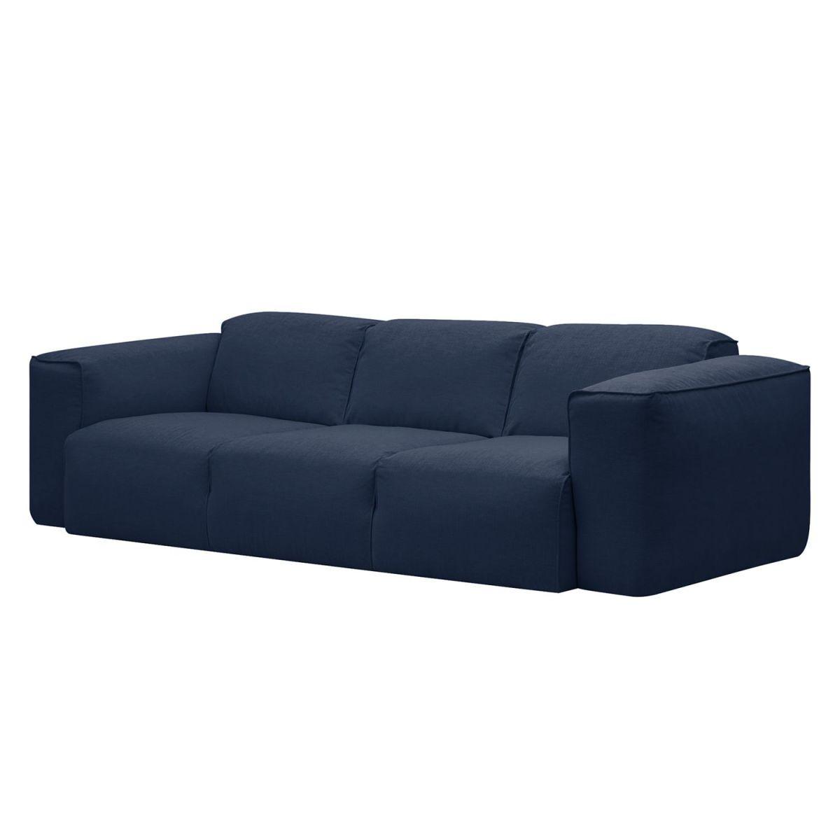 Quelle Sofa sofa hudson i 3 sitzer webstoff stoff milan dunkelblau jetzt
