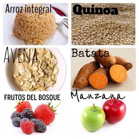 Sascha Fitness Los Mejores Carbohidratos Para Perder Grasa Fitness Cooking Workout Food Comida Fitness