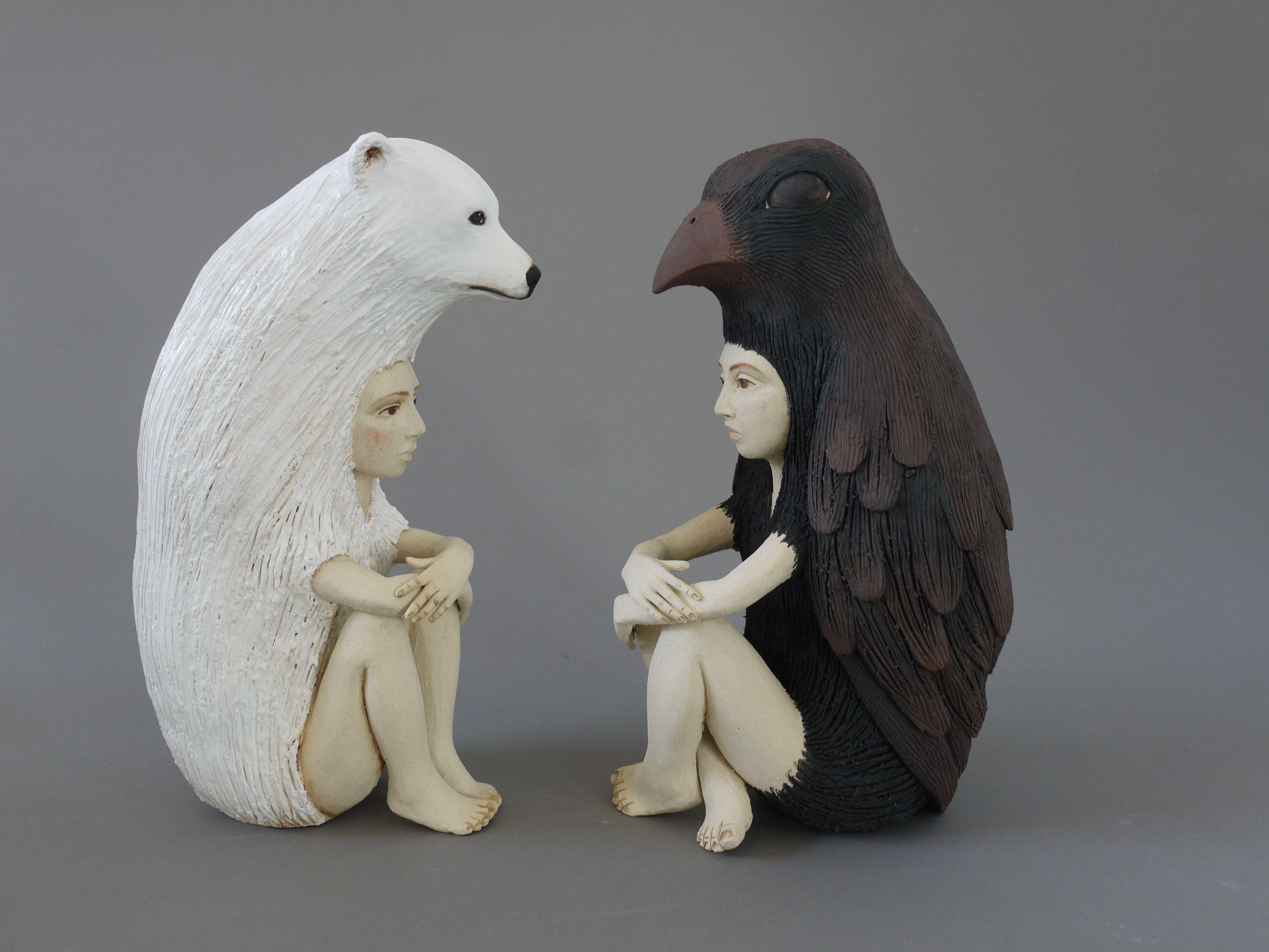 Crystal Morey Ceramic Sculptures Ceramic Sculpture Ceramic Art Sculpture