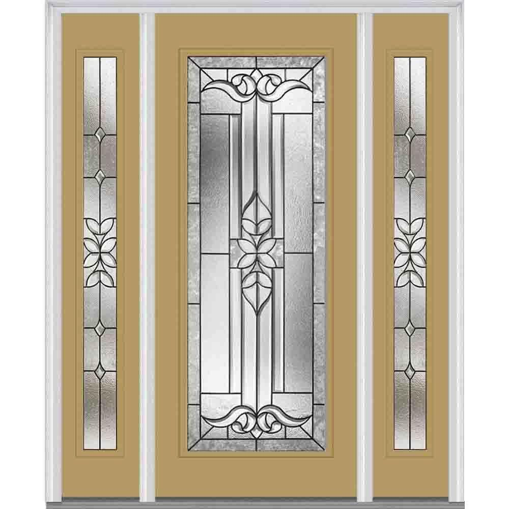 Milliken Millwork 64 5 in  x 81 75 in  Cadence Decorative Glass Full