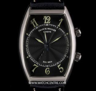 FRANCK MULLER 18K W/G BLACK GUILLOCHE DIAL BIG BEN ALARM B&P 5850 AL  http://www.watchcentre.com/product/franck-muller-18k-w-g-black-guilloche-dial-big-ben-alarm-bp-5850-al/4588   juwelier-haeger.de