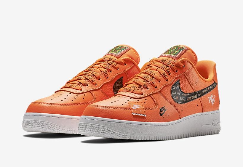 hot sale online b59ed 4fc3c Nike Air Force 1 Low Just Do It Total Orange AR7719-800 3