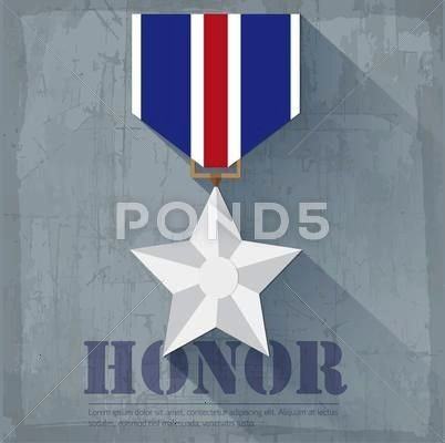 military honor medal icon background concept Vector illu Stock Illustration medaliconhonorGrungeGrunge military honor medal icon background concept Vector illu Stock Illu...