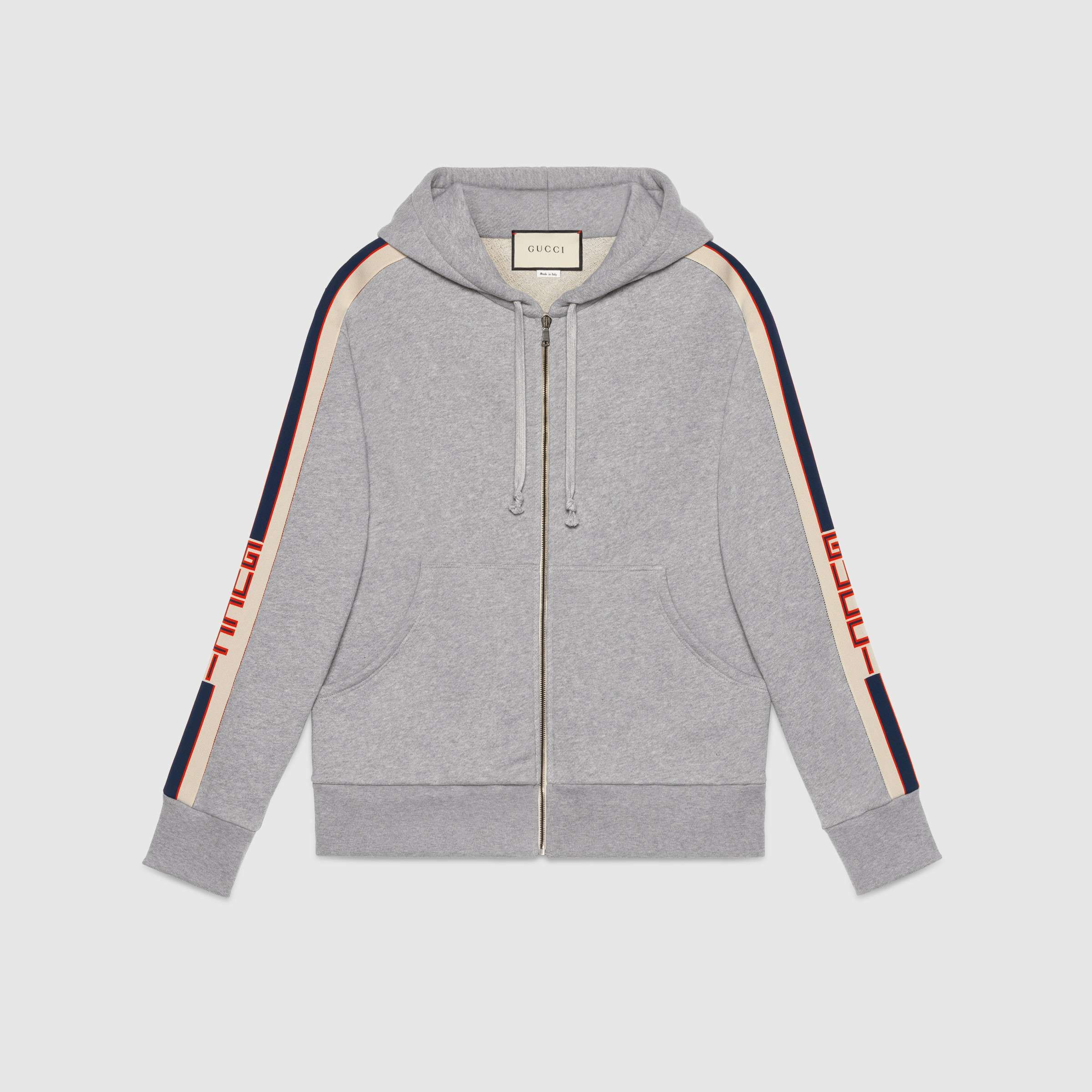 new appearance top design timeless design Replica GUCCI Technical jersey sweatshirt For Men 2017 Size M-XXXL ...