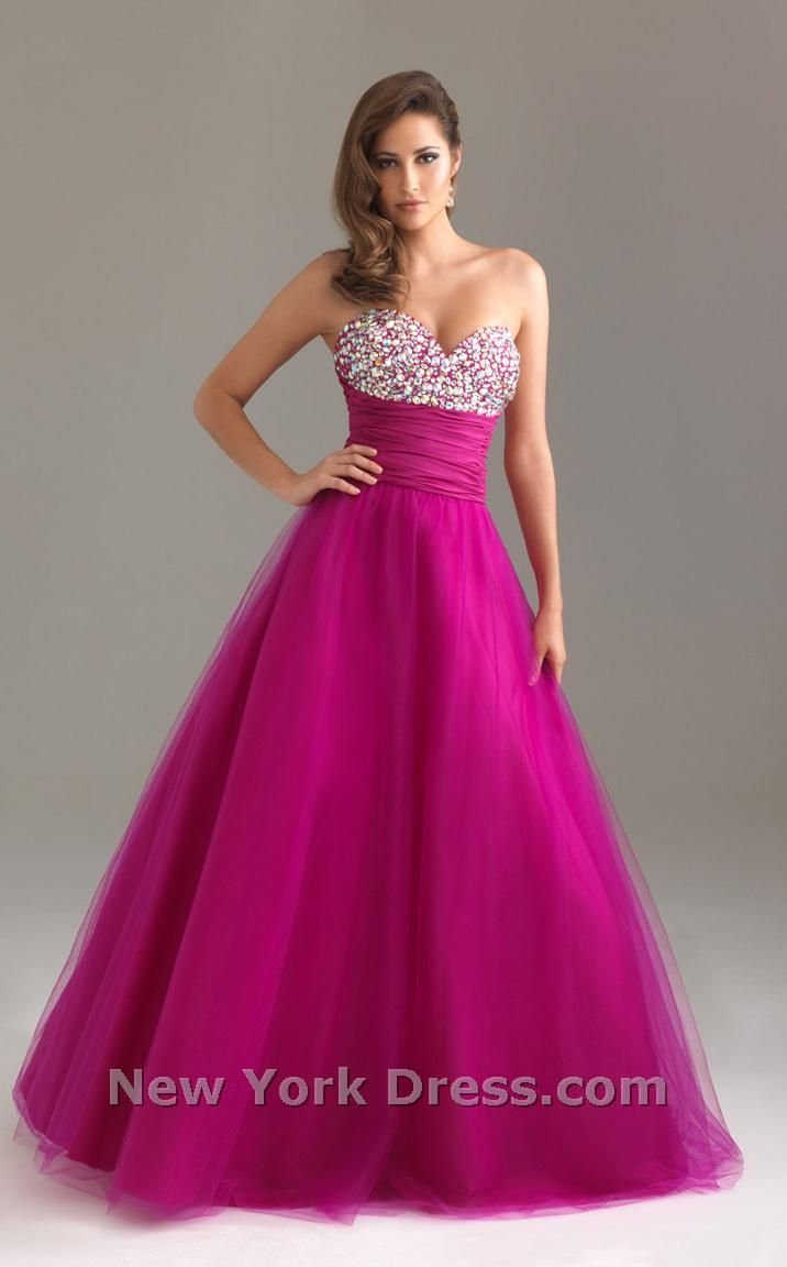 Such a pretty purple. With the sparkles it is Gorgeous | Dresses ...