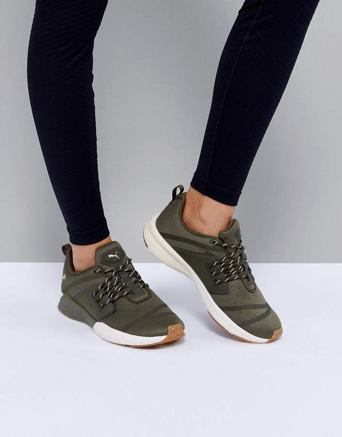 buy popular a5d43 8425f Puma Pulse Ignite Xt Sneakers In Khaki