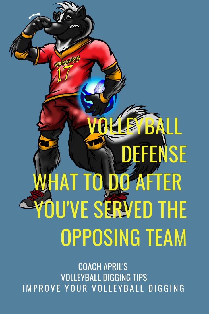 Your Team's Volleyball Defense Strategy After Serving