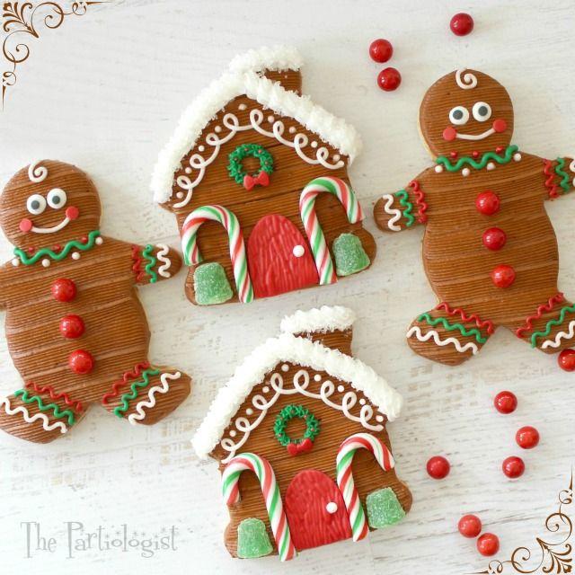 Gingerbread Themed Sugar Cookies!
