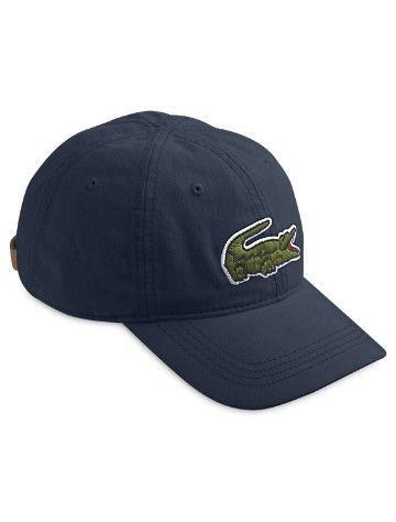 Big   Tall Lacoste® Big Croc Baseball Hat  4f514b00898