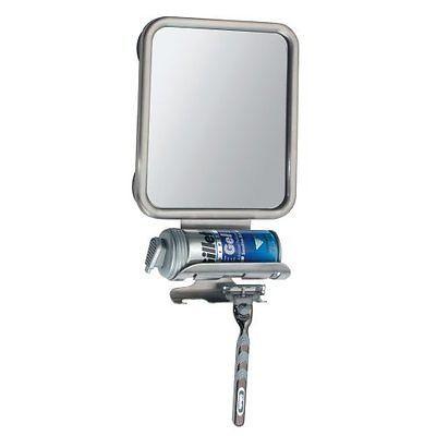 Suction Cup Anti Fog Shower Shaving Wall Mirror Fogless Bathroom