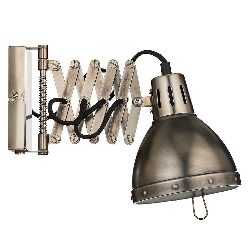 John Lewis Hector Outdoor Wall Light: John Lewis Heritage Extending Arm Wall Light